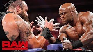 Braun Strowman vs. Bobby Lashley – Arm Wrestling Match: Raw, June 3, 2019