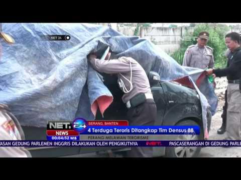 Seorang Terduga Teroris Tewas Tertembak Tim Densus 88 di Cilegon - NET24