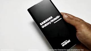 Forgot Password - How to Unlock Samsung Galaxy Note 10 / Note 10+