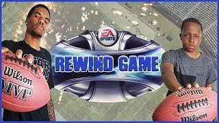 Madden 09 Gameplay Trent vs Juice - EPIC REWIND GAME!!
