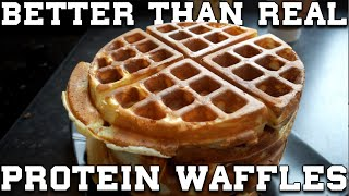 The ULTIMATE PROTEIN WAFFLES - High Protein & Low Calorie - Better Than Real