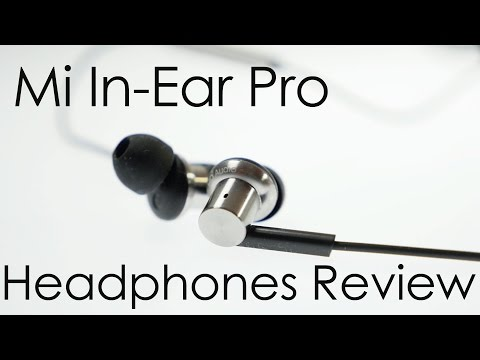 Mi In-Ear Pro Headphones Review Good Sounding Earphones