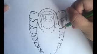 How To Draw Curly Anime Hair