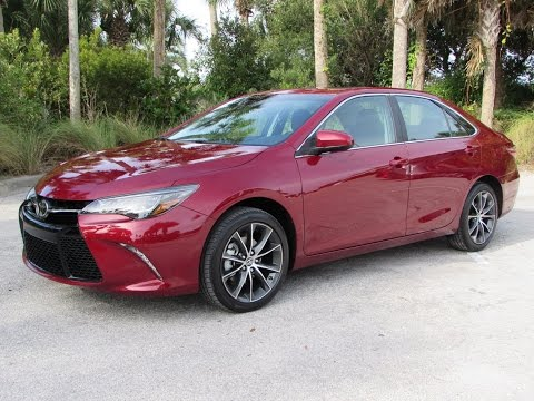2015 Toyota Camry XSE V6 Start Up, Test Drive