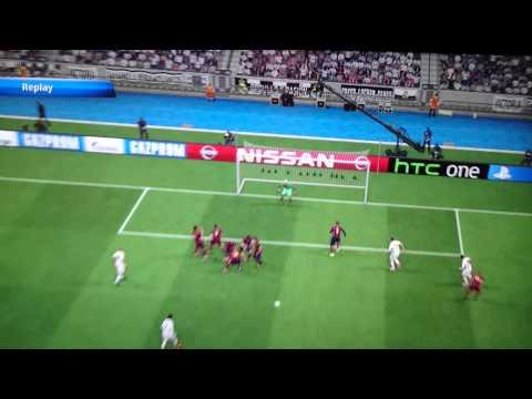 PES 2015 - Ronaldo free kick