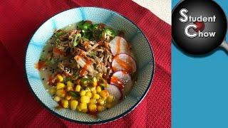 Veganuary 2020: Congee with Jackfruit