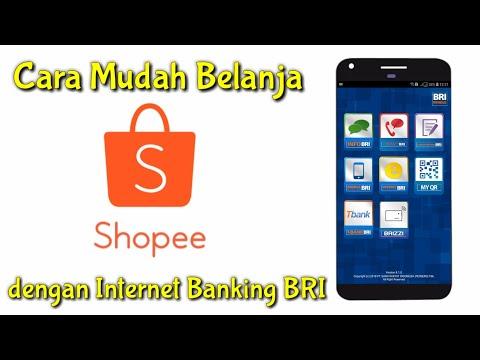 Cara Belanja di Shopee dengan Internet Banking BRI BRIVA