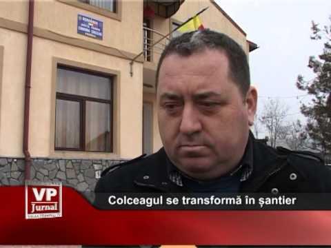 Comuna Colceag se transformă în șantier