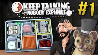 Keep Talking and Nobody Explodes - Part 1 - DETONATE | Keep Talking Gameplay