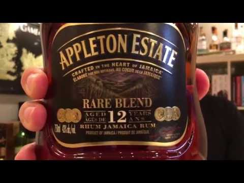 Appleton Estate 12 Year Old Rare Blend. Whisky in the 6 #63