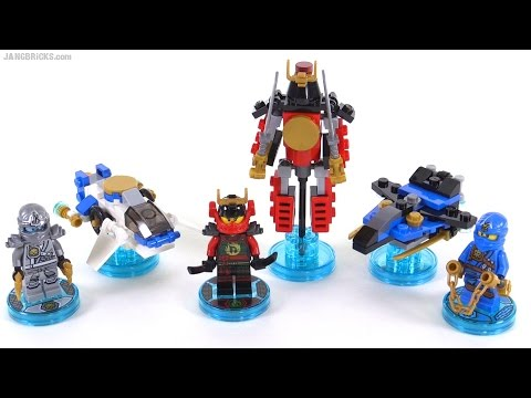 LEGO Dimensions toys: Ninjago fun packs reviewed!