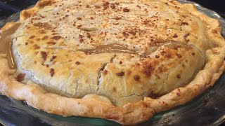 How To Make A Beef Pot Pie ~ From A Leftover Pot Roast Dinner
