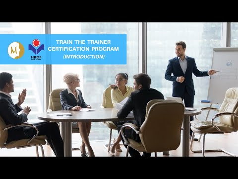 Train The Trainer Certification Program Introduction - YouTube