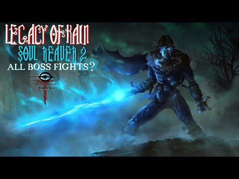 Legacy of Kain: Soul Reaver 2 - All Boss Fights(?)