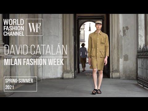 David Catalán spring-summer 2021   Milan Fashion Week