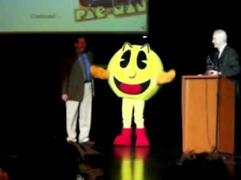 Pac-Man Is Speechless At His Hall Of Fame Ceremony