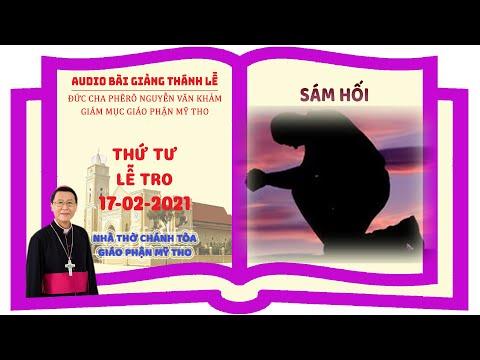 Đức Cha Phêrô suy niệm THỨ TƯ LỄ TRO
