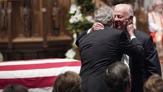 James Baker Gives Poignant Eulogy to George H.W. Bush