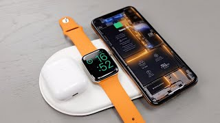 «Прототип» Apple AirPower - беспроводная зарядка для iPhone реальность?