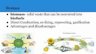 Energy Resources & Consumption: Renewable Energy Tutorial