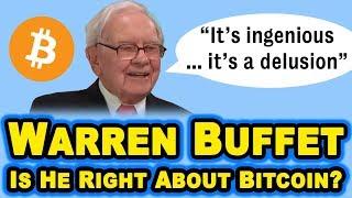 "Warren Buffet on Bitcoin: ""Bitcoin is a Delusion"" - 2019 CNBC"