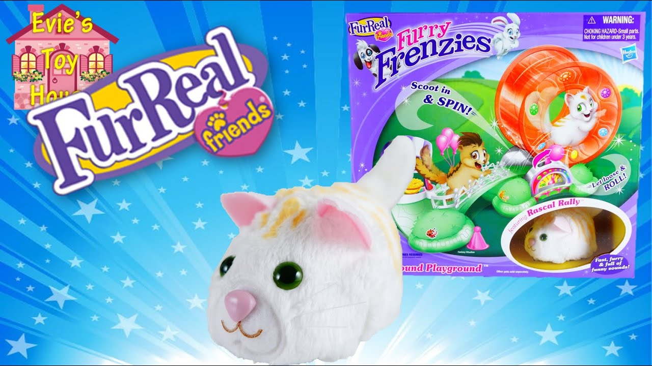 Whirl Around Playground Furry Frenzies by FurReal Friends Review | Evies Toy House