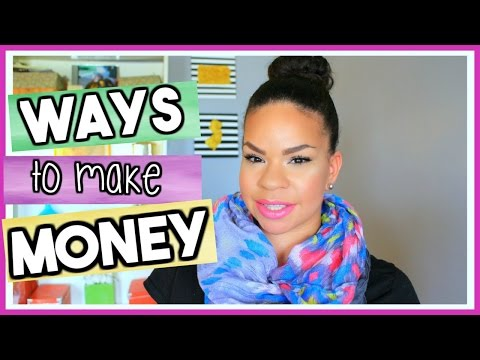 WAYS TO EARN EXTRA MONEY AS A STAY AT HOME MOM | THEMAMAMIXER