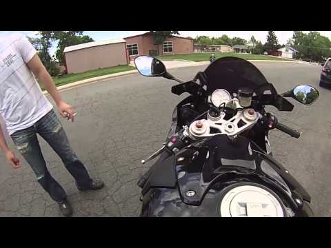 My first time on a BMW S1000RR