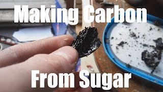Making Carbon from Sugar
