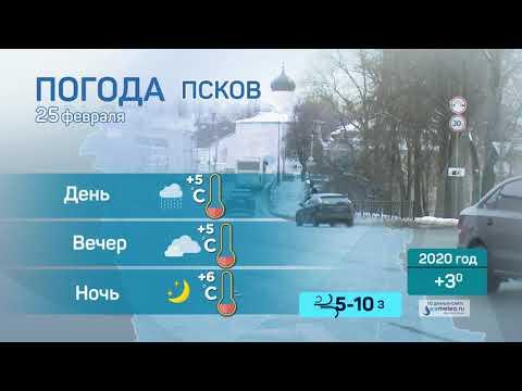 Прогноз погоды / 25.02.2021