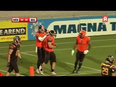 Samenvatting Nederland-België | american football (24 oktober 2015)