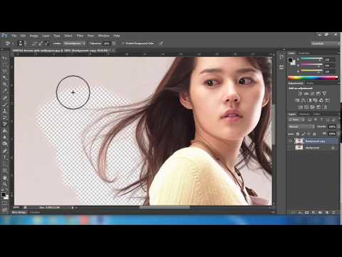 removing a background from hair using photoshop cs6