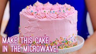 3-Layer Cake Made in the Microwave | Gemma's Bigger Bolder Baking