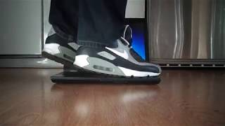 Nike Air Max 90 crush / walkover laptop