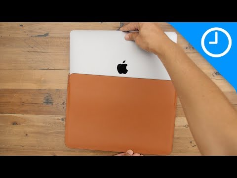 Review: MacBook Pro Leather Sleeve - worth the high price?