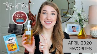 APRIL FAVORITES 2020 | Kitchen, Beauty, & Home Favorites! | This or That