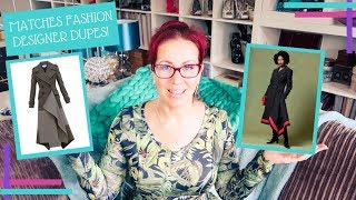 Get The Look For Less :: Matches Fashion Designer Looks with Sewing Patterns