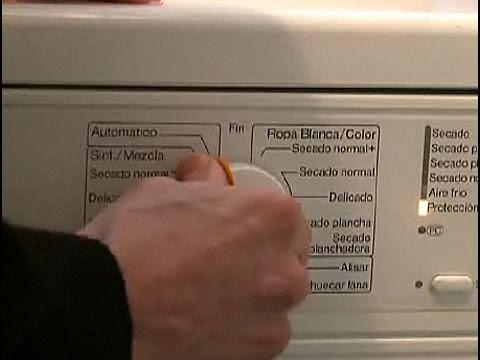 Cómo utilizar una secadora