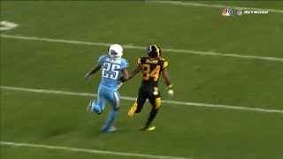Antonio Brown vs Adoree Jackson (2017) | WR vs CB Matchup