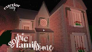 Bloxburg | Gothic Family Home ✭・.・✫・(exterior!)