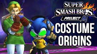 Super Smash Bros. Costume Origins - Project M Costumes – Aaronitmar - dooclip.me