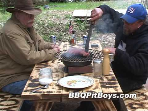 Grilled Pan Steak by the BBQ Pit Boys