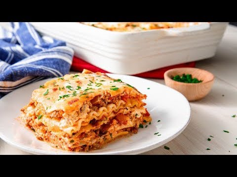 How To Make The Easiest Cheesiest Lasagna Ever | Delish Insanely Easy
