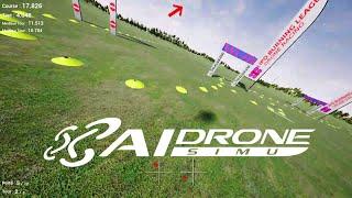 AI Drone Simulator Racing #2 : skAt FPV