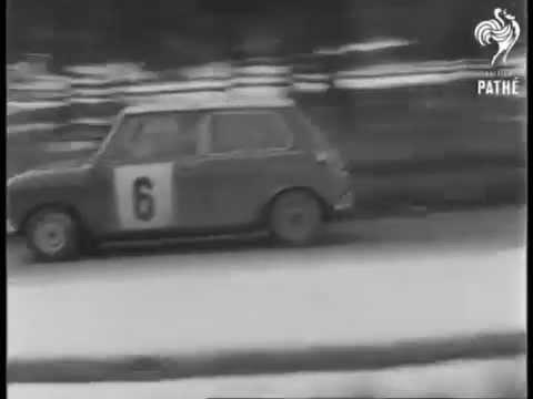 mini cooper s 1275 aaltonen-liddon m-carlo 1967 n58/70 1/43 voitures de rallye