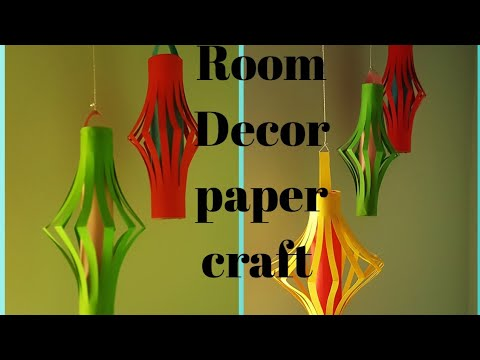 Paper room decor