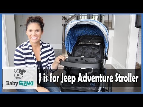 J is for Jeep Adventure All-Terrain Jogging Stroller