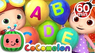 ABC Song with Balloons | +More Nursery Rhymes & Kids Songs - CoCoMelon