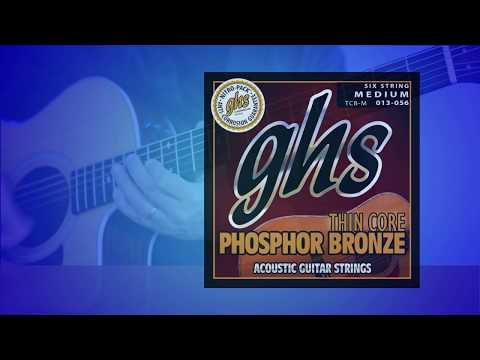 GHS Strings - Thin Core Phosphor Bronze