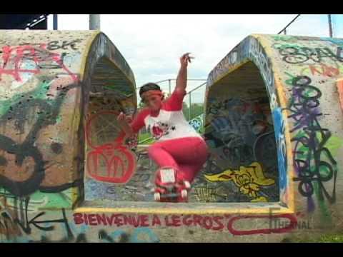 Ethernal Skate Films / Frédérique Luyet: Blunt rock to fakie @ Big-O (Stade Olympique)